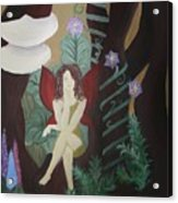 A Fairy's Sigh Acrylic Print