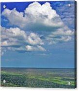 A Few Clouds In Keywest Acrylic Print