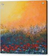 A Field In Bloom Acrylic Print