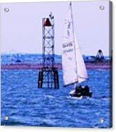 A Fine Day For A Sail Acrylic Print