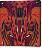 A Firebird Emerged From Your Equanimity 2015 Acrylic Print by James Warren