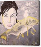 A Fish Named Angelina Acrylic Print by Joseph Palotas