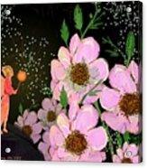 A Flower Fairy Acrylic Print
