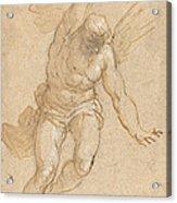 A Flying Angel Acrylic Print