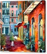A French Quarter Evening Acrylic Print
