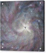 A Galaxy Centre Acrylic Print