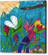 A Garden Adventure Acrylic Print
