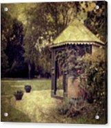 A Garden Somewhere Acrylic Print