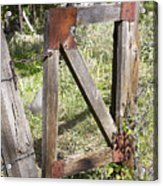 A Gate Acrylic Print
