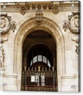A Gate To The Opera  Acrylic Print
