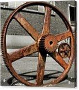A Gear In A Gear Acrylic Print