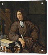 A Gentleman At His Desk Acrylic Print