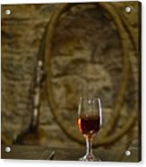 A Glass Of Woodford Acrylic Print