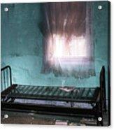 A Glow Where She Slept Acrylic Print