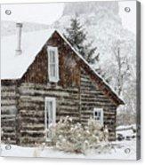 A Golden Winter Acrylic Print