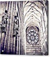 A Gothic Church Acrylic Print