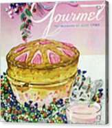 A Gourmet Cover Of A Souffle Acrylic Print