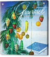 A Gourmet Cover Of Marzipan Fruit Acrylic Print