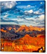 A Grand Canyon Sunset Acrylic Print
