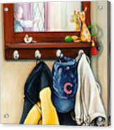 A Grandsons Prized Possessions Cubs Acrylic Print