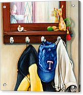A Grandsons Prized Possessions Texas Acrylic Print