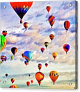 A Great Day To Fly Acrylic Print