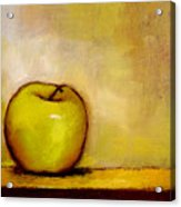 A Green Apple Acrylic Print