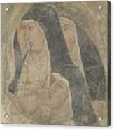 A Group Of Poor Clares Acrylic Print