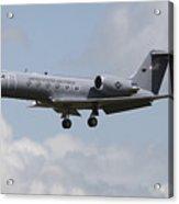 A Gulfstream C-20h Executive Transport Acrylic Print by Timm Ziegenthaler