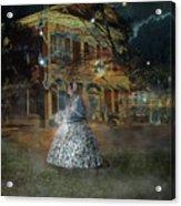A Haunted Story In Dahlonega Acrylic Print
