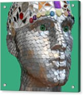 A Head Full Of Shattered Dreams Acrylic Print