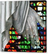 A Helping Hand Acrylic Print