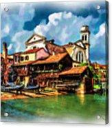 A Hidden Place In Venice Acrylic Print