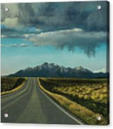 A Highway To The Rockies Acrylic Print