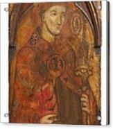 A Holy Bishop Acrylic Print