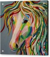 A Horse Of A Different Color Acrylic Print