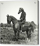 A Horse Ride Acrylic Print