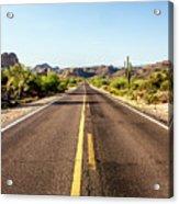 A Journey Through Arizona Acrylic Print