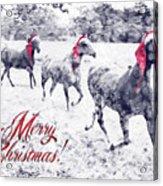 A Joyful Christmas Acrylic Print