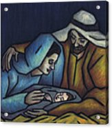 A King Is Born Acrylic Print by Kamil Swiatek