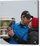 A Kiss For The Winner Acrylic Print