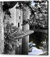 A Knight's Castle In Blue Acrylic Print
