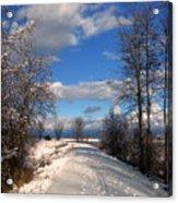 A Kootenai Wildlife Refuge Winter Acrylic Print