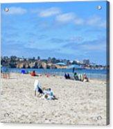 A La Jolla Shores Summer Acrylic Print