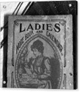 A Ladies Memories Acrylic Print