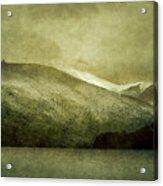 A Lake In Patagonia Acrylic Print