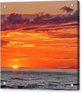 A Lake Sunset Acrylic Print