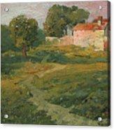 A Landscape In Vicinity Of Strijigorod Acrylic Print