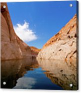 A Leisurely Paddle Acrylic Print