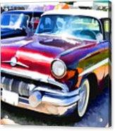 A Line Of Classic Antique Cars 9 Acrylic Print
